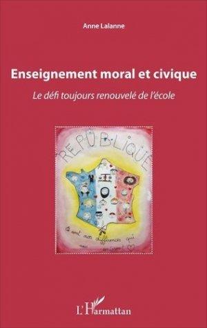 Enseignement moral et civique - l'harmattan - 9782343115726 -