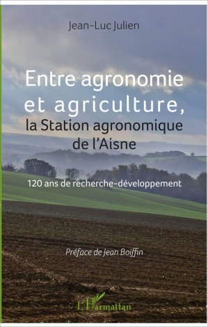 Entre agronomie et agriculture-l'harmattan-9782343122120