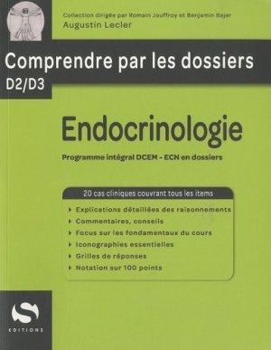 Endocrinologie - s editions - 9782356400574