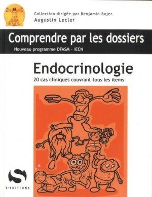 Endocrinologie - s editions - 9782356401144 -