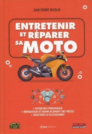 Entretenir et réparer sa moto - casa - 9782380580174 -