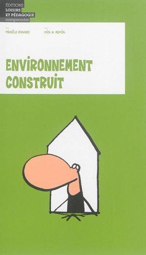 Environnement construit - lep - loisirs et pedagogie (suisse) - 9782606016388 -