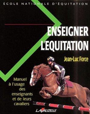 Enseigner l'équitation - lavauzelle - 9782702505106 -