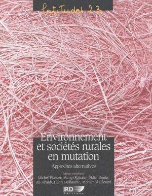 Environnement et sociétés rurales en mutation Approches alternatives - ird - 9782709915472 -