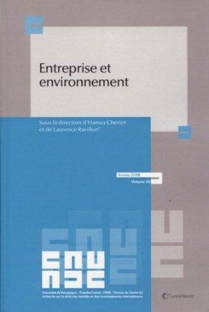 Entreprise et environnement - Lexis Nexis/Litec - 9782711026760 -