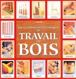 Encyclopédie des techniques de travail du bois - vigot - 9782711414000 -