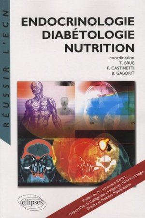 Endocrinologie Diabétologie Nutrition - ellipses - 9782729838836 -