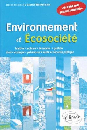 Environnement et écosociété - ellipses - 9782729863036 -