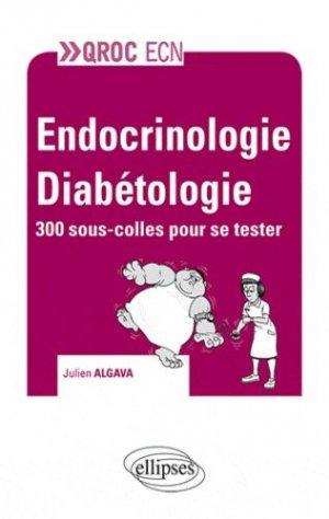 Endocrinologie - Diabétologie - ellipses - 9782729873011 -