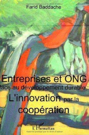 Entreprises et ONG face au développement durable - l'harmattan - 9782747575478 -