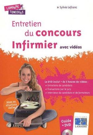 Entretien du concours Infirmier avec vidéos - lamarre - 9782757304228