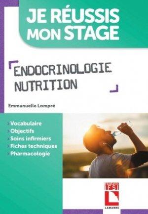 Endocrinologie, nutrition - lamarre - 9782757310588