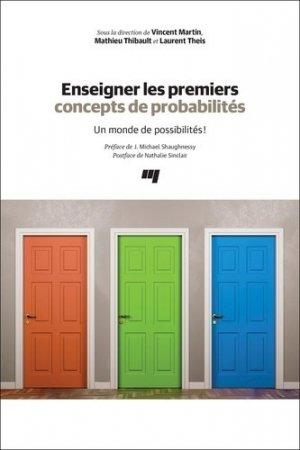 Enseigner les premiers concepts de probabilités - Presses de l'Université du Québec - 9782760551671 -