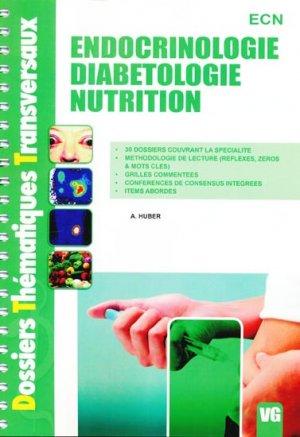 Endocrinologie Diabétologie Nutrition - vernazobres grego - 9782818300046 -