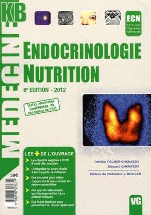 Endocrinologie nutrition - vernazobres grego - 9782818303672 -