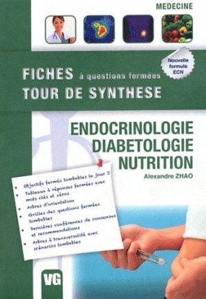 Endocrinologie - Diabétologie - Nutrition - vernazobres grego - 9782818303863