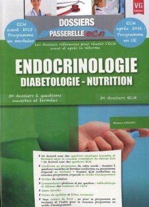 Endocrinologie Diabétologie - Nutrition - vernazobres grego - 9782818310274 -