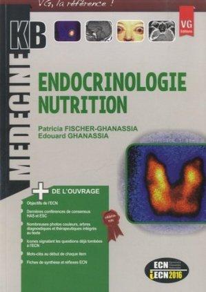 Endocrinologie nutrition - vernazobres grego - 9782818311820 -
