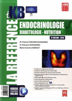 Endocrinologie diabétologie nutrition - vernazobres grego - 9782818313589 -