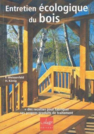 Entretien écologique du bois - la plage - 9782842211783 -