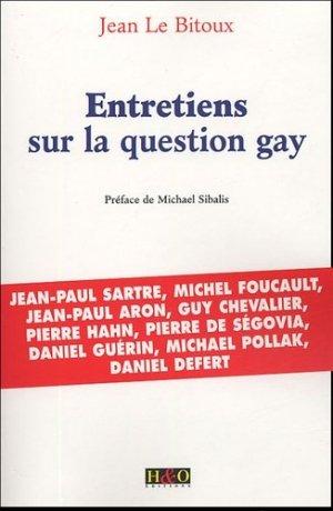 Entretiens sur la question gay - HandO - 9782845470989 -