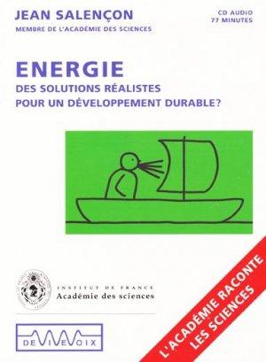 Energie - de vive voix - 9782846841092 -