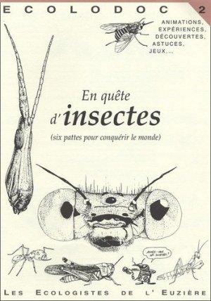 En quête d'insectes - les ecologistes de l'euziere - 9782906128057 -