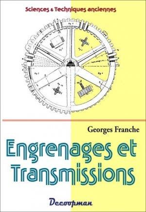 Engrenages et Transmissions - decoopman  - 9782917254592 -
