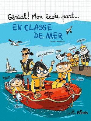 En classe de mer - les p'tits berets - 9782918194231 -