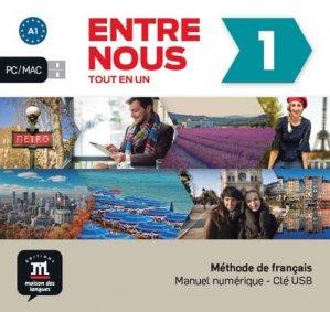 Entre nous 1 – Clé USB - maison des langues - 9788417249151 -