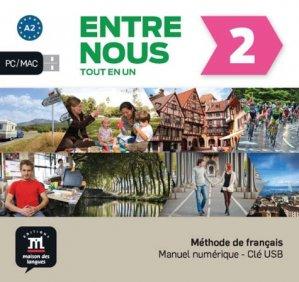 Entre nous 2 – Clé USB - maison des langues - 9788417249168 -