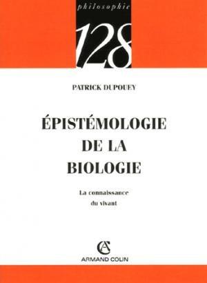 Épistémologie de la biologie - armand colin - 9782200344726 -