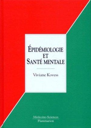 Épidémiologie et santé mentale - lavoisier msp - 9782257155382 -
