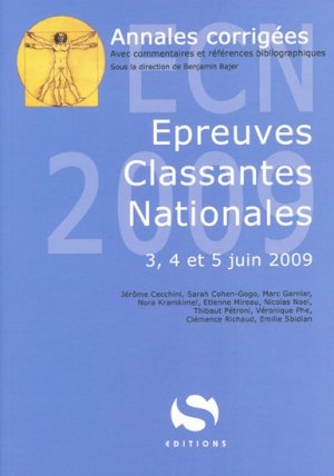 Épreuves Classantes Nationales 2009 - s editions - 9782356400499