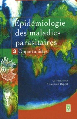 Épidémiologie des maladies parasitaires 3 Opportunités - em inter - 9782743006327 -