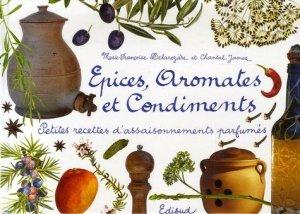 Epices, aromates et condiments. Petites recettes d'assaisonnements parfumés - Edisud - 9782744906374 -