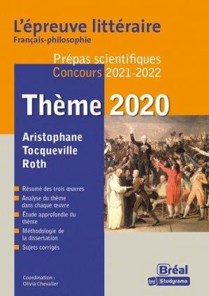 Epreuve littéraire - Bréal - 9782749539935 -