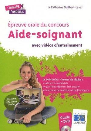 Épreuve orale du concours Aide-Soignant avec vidéos d'entraînement - lamarre - 9782757304235 -