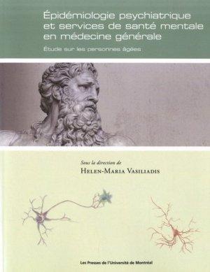 Epidémiologie psychiatrique et services de santé mentale en médecine générale - presses de l'universite de montréal - 9782760639607