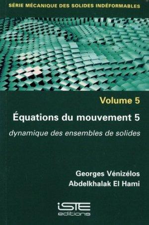 Equations du mouvement - iste  - 9781784056650 -