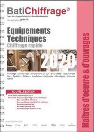 Equipements techniques 2020 - batiactu - 9782358061247 -