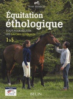 Équitation éthologique - belin - 9782701140230 -