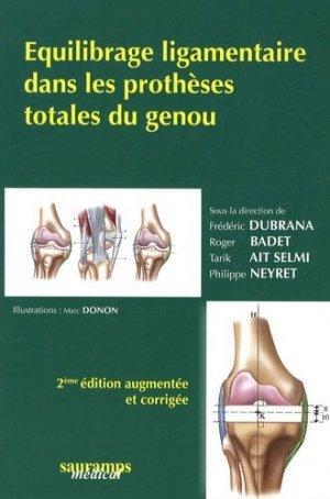Équilibrage ligamentaire dans les prothèses totales du genou - sauramps medical - 9782840236191 -