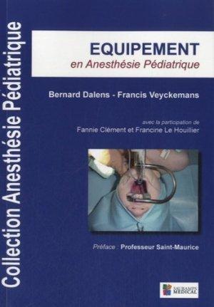 Equipement en anesthésie pédiatrique - sauramps medical - 9782840238799