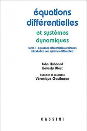 Equations différentielles et sytèmes dynamiques - volume 1 - vuibert - 9782842251109 -