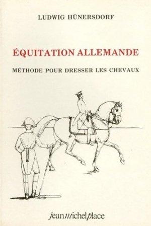 Equitation allemande - jean michel place - 9782858931064 -