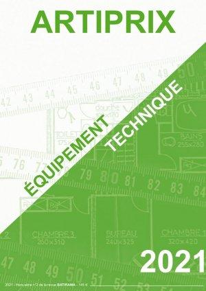 Équipement technique 2021 - batirama - 9782956619246 -