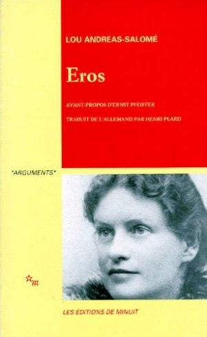 EROS - minuit - 9782707306845 -