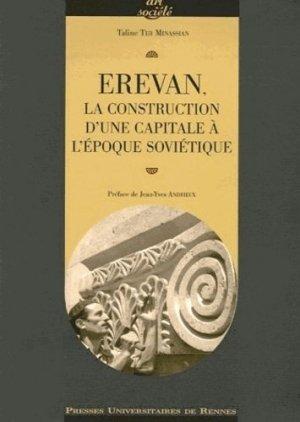 Erevan : la construction d'une capitale à l'époque soviétique - presses universitaires de rennes - 9782753503694 -