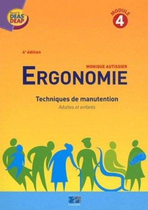 Ergonomie - lamarre - 9782757304501 -